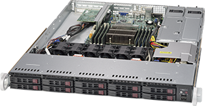 Small Windows Server 2016 Storage Spaces Direct Appliance - 1U rackmount